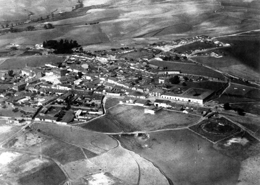 Foto aérea Sanse 1930