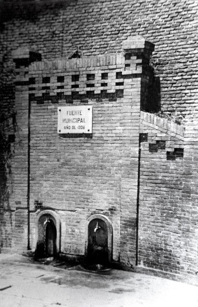 Historia de Sanse: Fuente del Pilar de Arriba