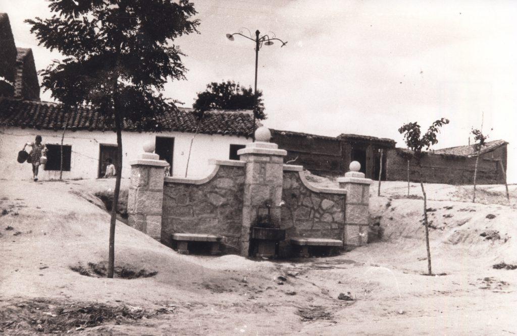 Historia de Sanse: Plaza de la Fuente