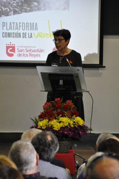 Carmen Carreras, secretaria de la Asociación